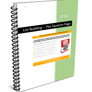 List Building Cheat Sheet Squeeze PAge