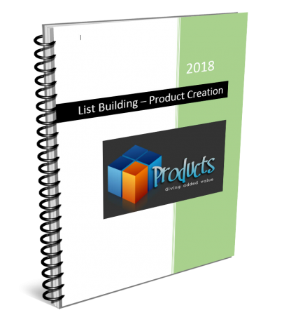 List Building Cheat Sheet Product Creation