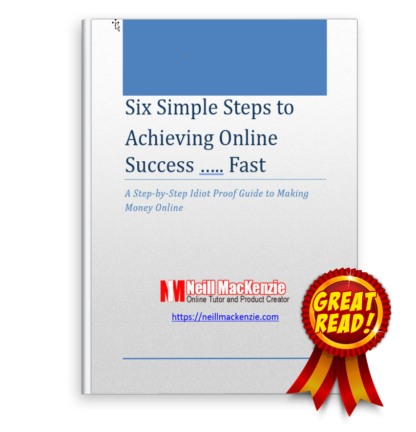 Six Simple Steps to Online Success